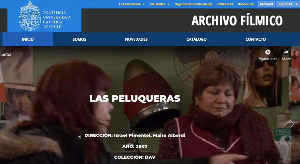 Home Archivo Fílmico